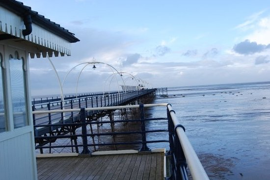 The pier in Southport