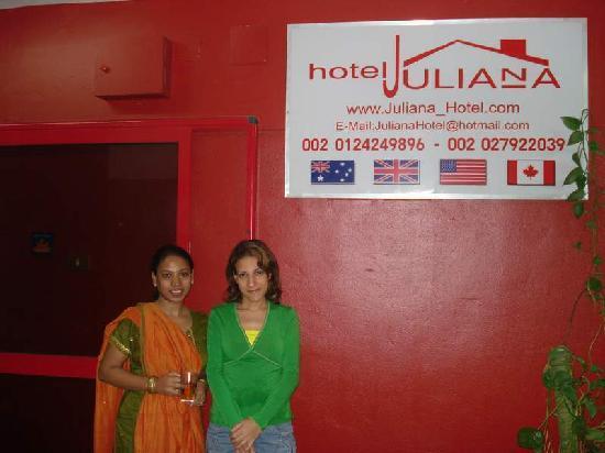 Mandarin Hostel: Marium, a staff