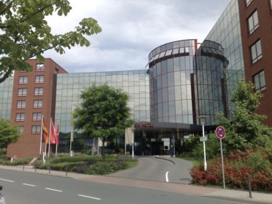 The Rilano Hotel Frankfurt Oberursel: The Movenpick hotel where I stayed, in Oberursel.