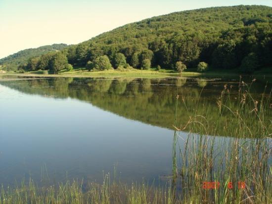 Cesaro, Włochy: Lake Biviere in Alcara Li Fusi, Sicily