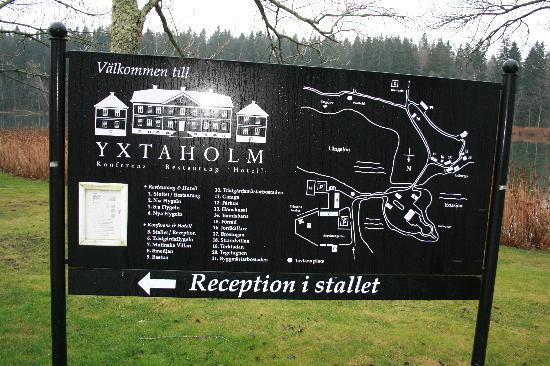 Yxtaholm Slott: The Layout