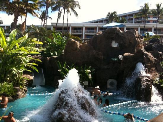 Grand Wailea - A Waldorf Astoria Resort: The best waterslides on the island including the amazing water elevator