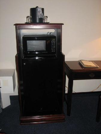 Point Plaza Suites & Conference Center: microwave, fridge, TV/DVD player