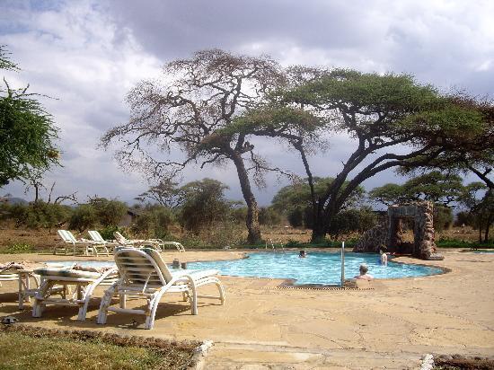 Sentrim Amboseli: The pool