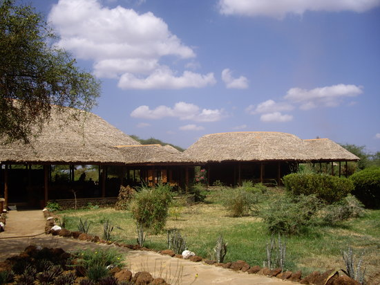 Sentrim Amboseli: The restaurant