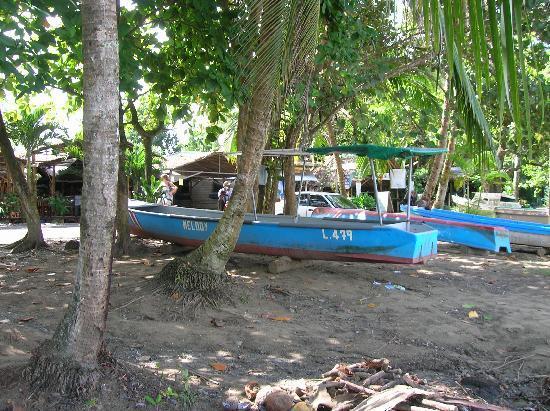 El Encanto Inn: boats