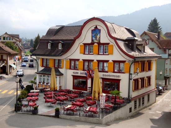 Exterior Of Hotel Adler Appenzell Picture Of Hotel Adler