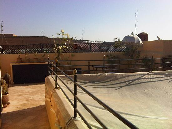 Riad Jahan: Another view of the roof terrace