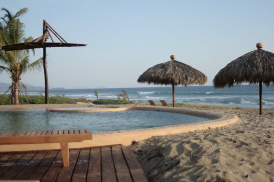 Playa Viva: pool at PV