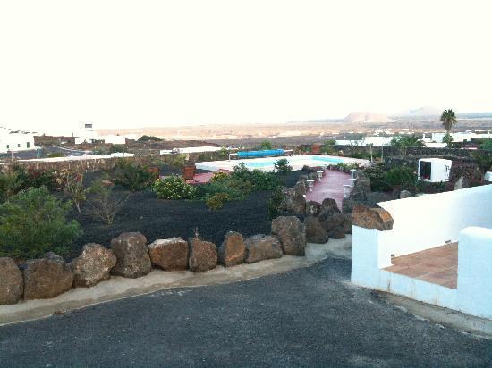 Lava's place's garden