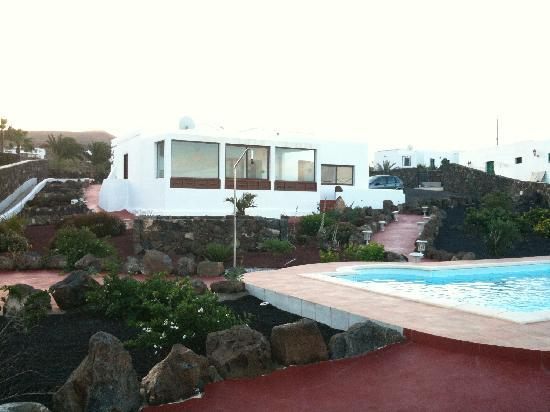Lava's place from the pool