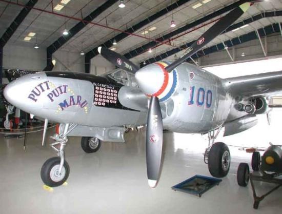 Lone Star Flight Museum: Galveston, TX: Lockheed P-38 Lightning