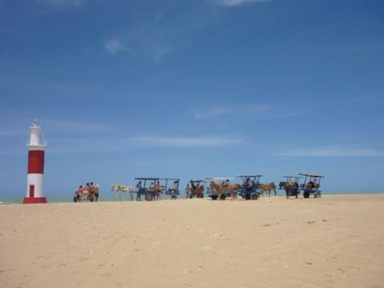 Traditioneel vervoer Galinhos