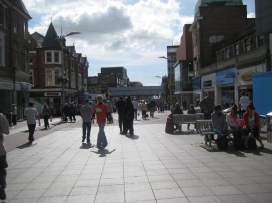 Southend-on-Sea, UK: South End of Sea - UK  Street Market out of HSBC
