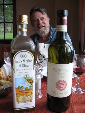 Hotel Villa Pambuffetti: Olio & Vino - The Best!
