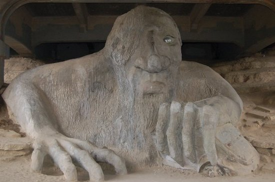 Image result for fremont troll