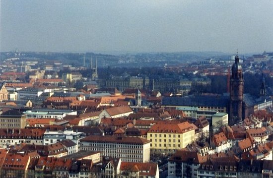 Wurzburg, Jerman: Where we lived Wuerzburg, GE