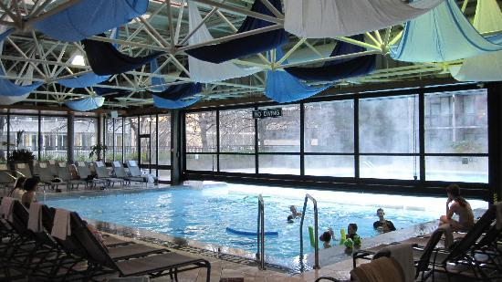 Indoor Outdoor Heated Pool Picture Of Sheraton Centre Toronto Hotel Toronto Tripadvisor
