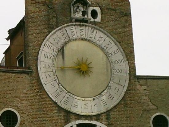 with 24 hour clock in roman numerals no less picture of torre