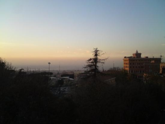 Frascati: panorama dal belvedere
