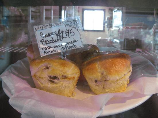 Rockfish Bakery : Savory brioche for brunch (vegetarian!)