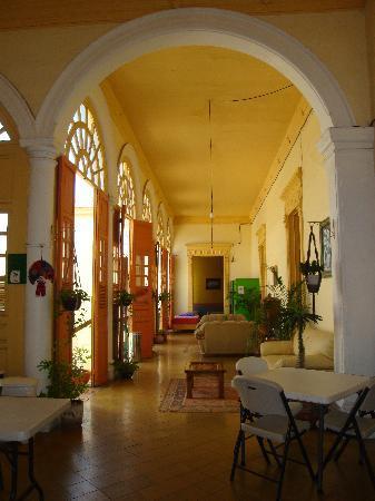 Hostal Zócalo: communal hall