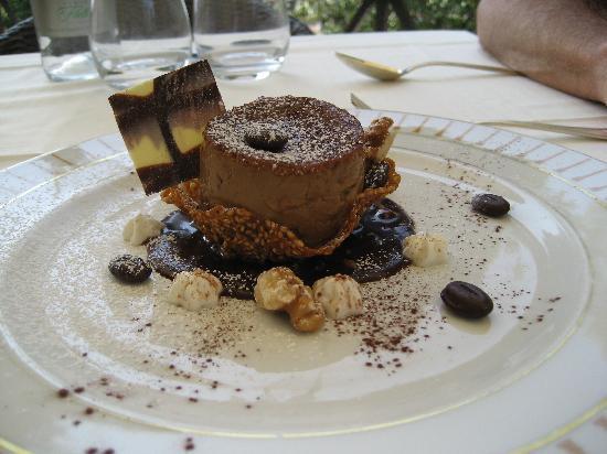 dessert at Casina Valadier