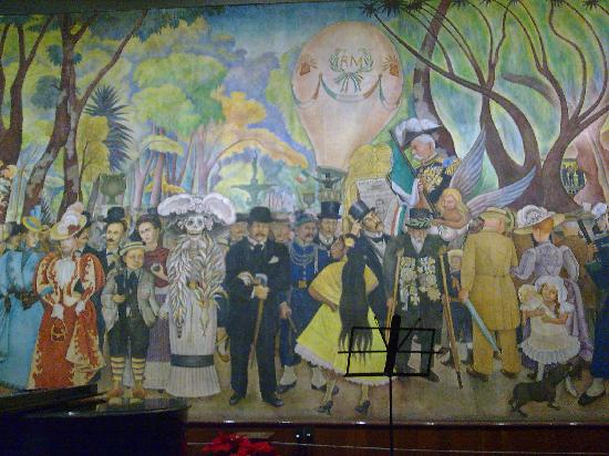 Mexico Alameda Dominical Diego Rivera 8 Picture Of Museo Mural