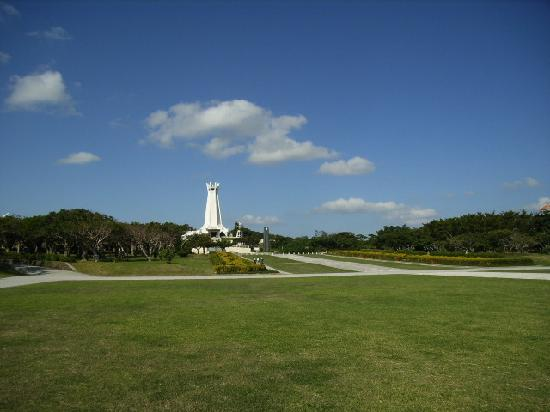 Suicide Cliffs where many civilians died - Picture of Okinawa Peace Memorial ...
