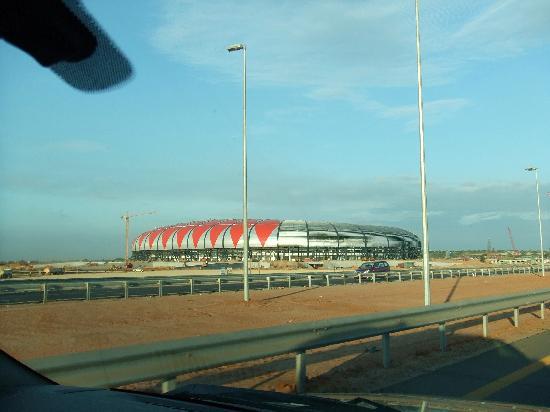 Hotel Alvalade: il nuovo stadio di Luanda (sarà pronto per la coppa d'Africa?!)