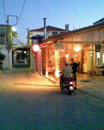 Retimno, Grecja: Taverna Zorbas, Pigi