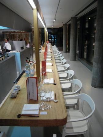 restaurant dos palillos designed by ronan & erwann bouroullec, casa camper berlin mitte