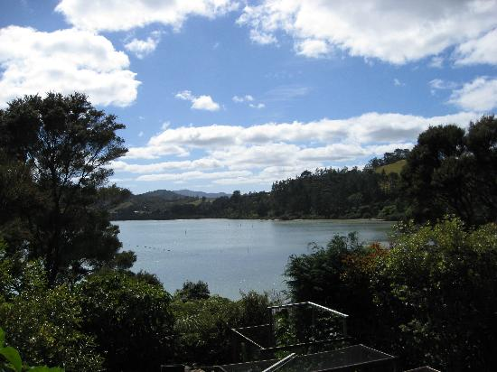 Bay of Islands Cottages: View from our cottage's balcony