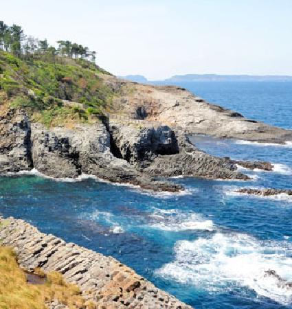Nanatsugama: 天気がいい日の海の色は最高!