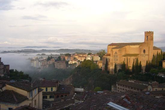 Siena B&B Hospitality: The view from our balcony