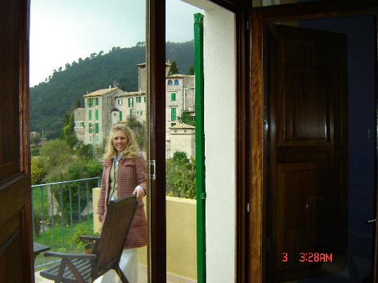 Es Petit Hotel de Valldemossa: Partial view from veranda room