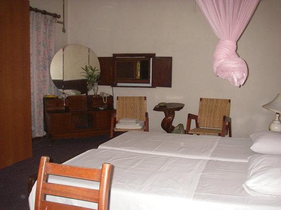 Wayfarer's Inn : Chambre double avec fan , sans A/C