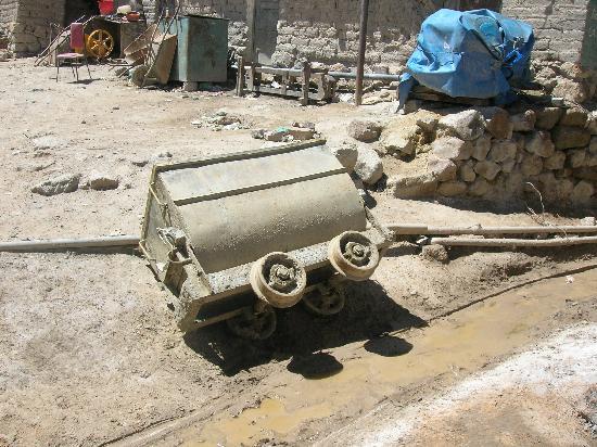 Potosi, Bolivia: entrada a una mina