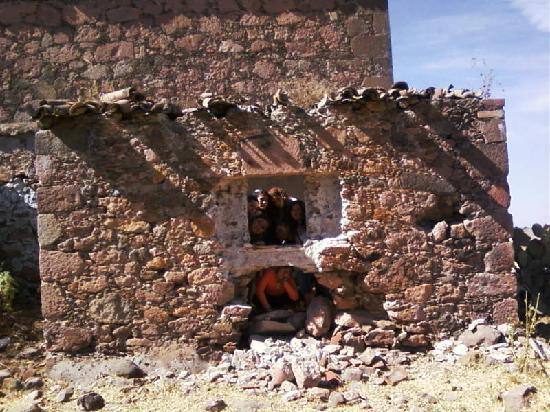 Amealco de Bonfil, Mexico: Mexico La Muralla construccion original