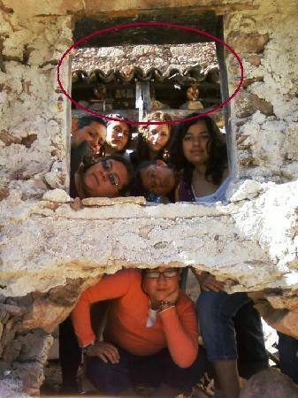 Amealco de Bonfil, Mexico: Mexico La Muralla construcción original con fantasma