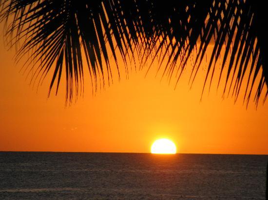 Viva Wyndham Dominicus Beach: Sunset every evening