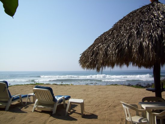 Casa Ki: view from the palapa, right out front