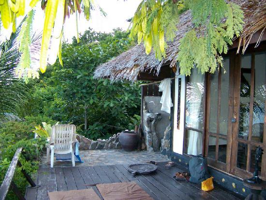 Blue Heaven Resort: terrace