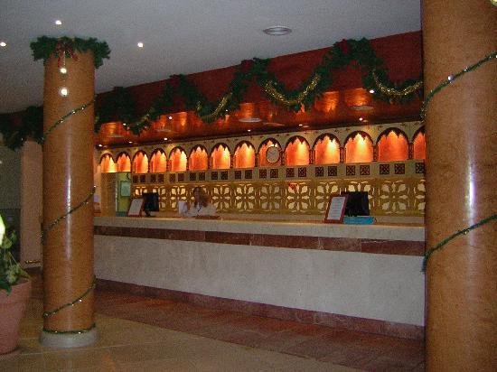 IBEROSTAR Playa Gaviotas: Recepción del hotel