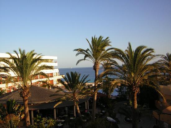 Iberostar Playa Gaviotas: Vista piscina-mar desde habitación
