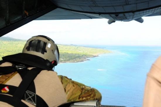 Moroni, Comoros: In Comoros on a search and rescue mission