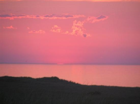 Race Point Lighthouse : Cape Cod sunset
