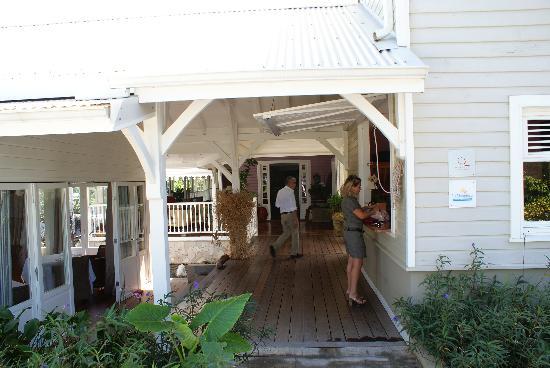 Hotel Plein Soleil : reception