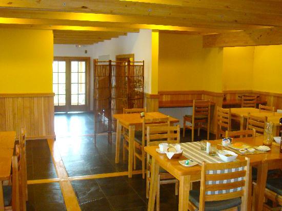 Hotel Temauken: Dining area