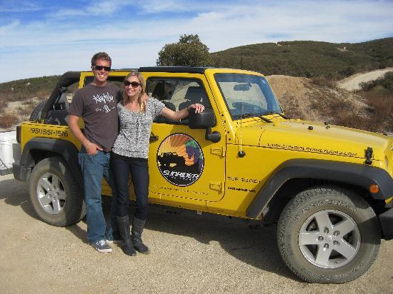 Sunrider Jeep and Wine Tours of Temecula: Sunrider Tour!